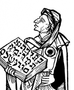 Карикатура на Йосельмана из Росхайма.