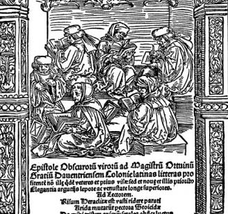 «Письма темных людей». (1514).