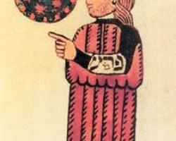 Бильам. Иллюстрация из Библии Кенникотта
