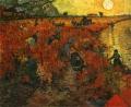 В. Ван Гог Красные виноградники в Арле